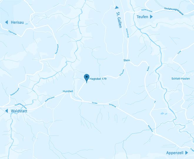 Karte Standort Rusch Dienstleistungen