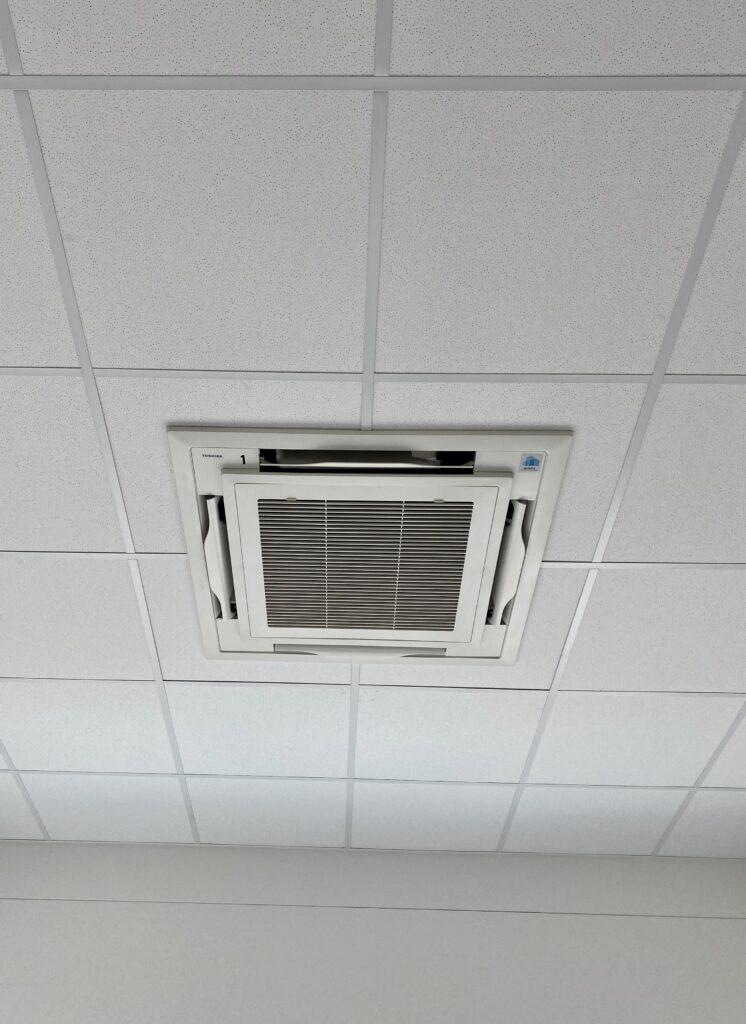 Klimaanlage Innengeräte in Hohldecke