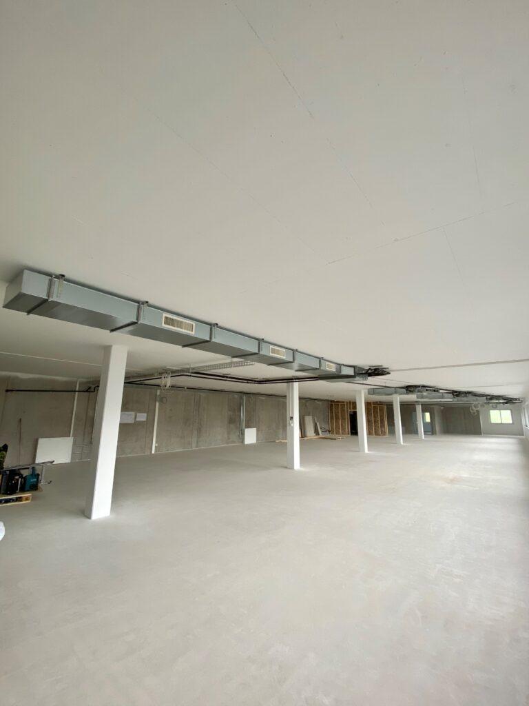 Klimaanlage Innengerät mit Luftverteilung für Werkstatt