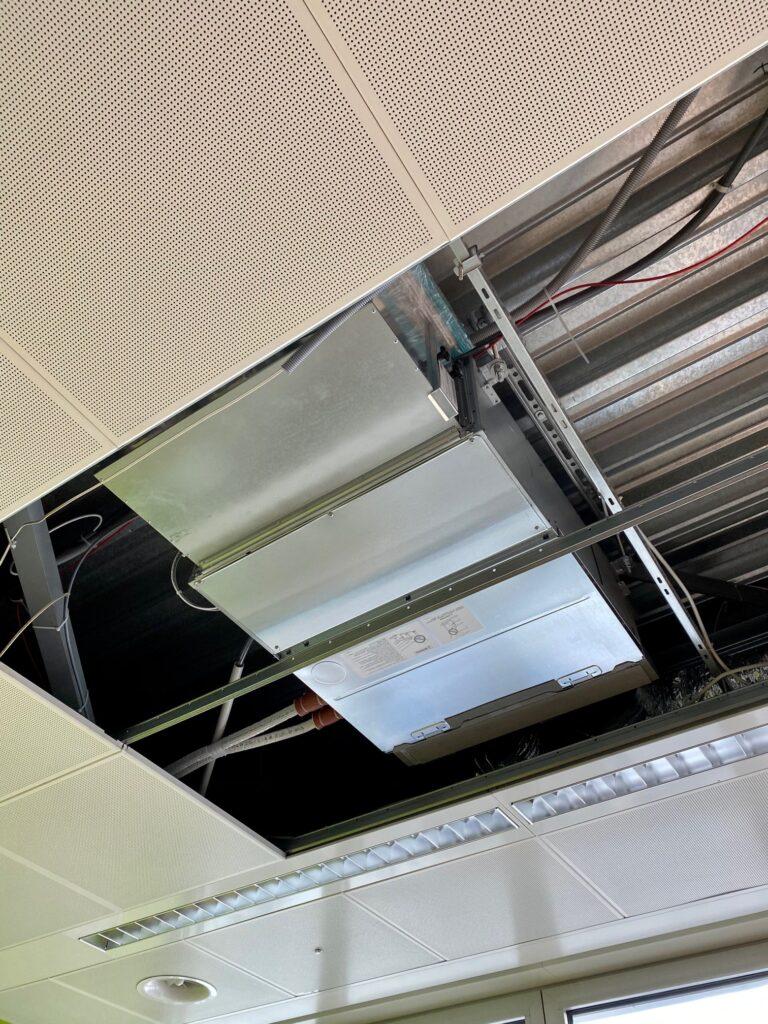 Klimaanlage Innengerät Ausführung Kanalgerät, in Hohldecke montiert