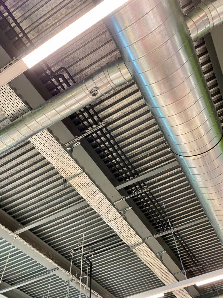 Klimaanlage Leitungsinstallation
