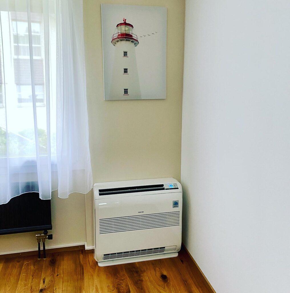 Klimaanlage Innengerät Ausführung Truhengerät