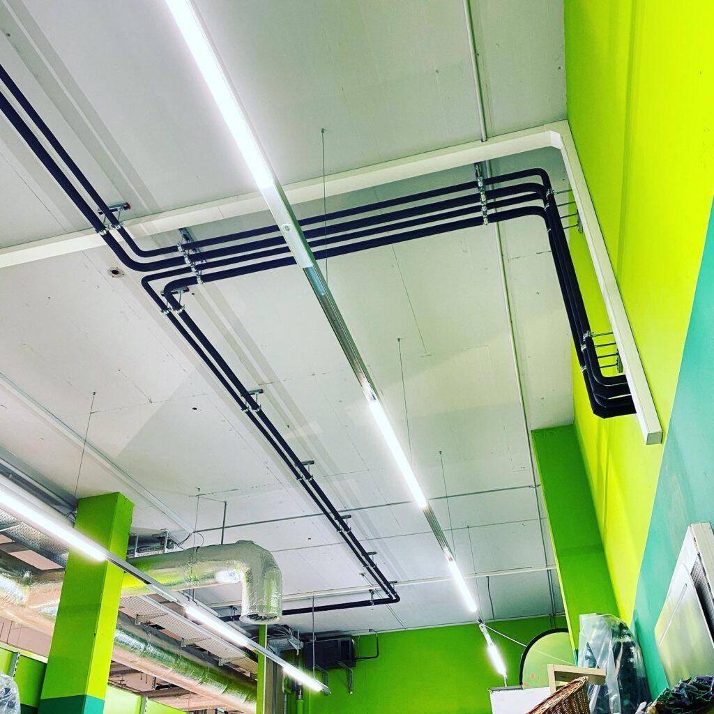 Klimaanlage Leitungsführung
